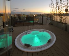Banheiras SPA em acrílico ou gel-coat